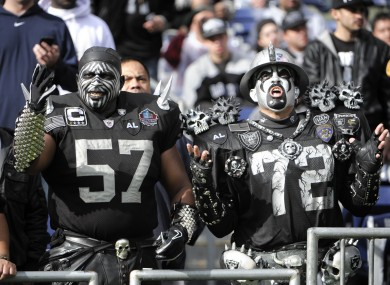 If perpetual heartbreak is your thing, choose the Oakland Raiders.
