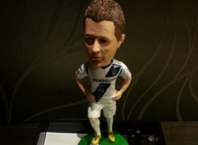 We know that Robbie has made it in the US now that they've created a bobblehead version of the Irish striker.