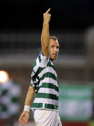 Sean O'Connor has apologised for this gesture on Friday evening.