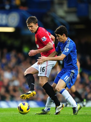How Michael Carrick deals with the threat posed by Oscar and the Chelsea midfield could prove key tonight.