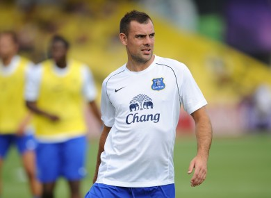 Darron Gibson no longer makes himself available for Ireland games.