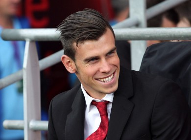 Gareth Bale returned to England this week but has not trained with Spurs.