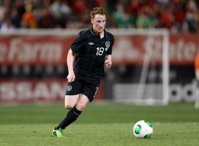 Quinn has impressed in his previous games for Ireland.