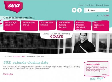 The SUSI website