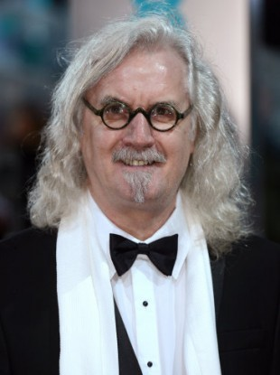Billy Connolly arriving at The EE British Academy Film Awards 2013 in February.