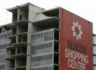 Beacon Shopping Centre building that is in NAMA.