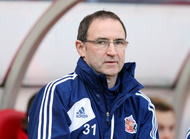 O'Neill during his time at Sunderland.