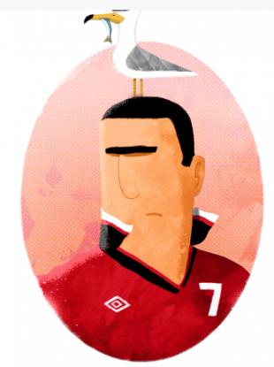 'Cantona and Seagull'