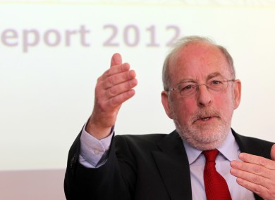 Central Bank Governor, Patrick Honohan