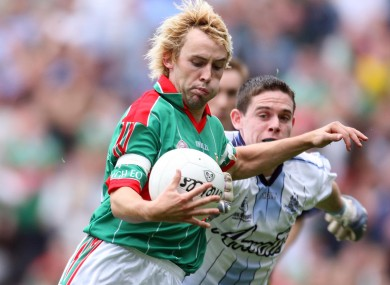 Mortimer scored the first point of the game and played a key role for Mayo.