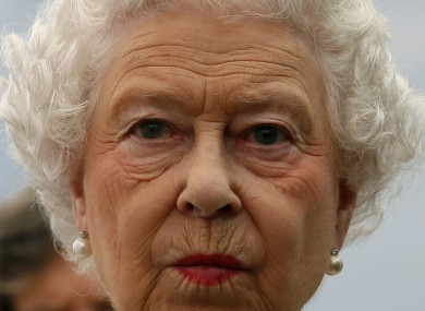 Queen Elizabeth II was not in the palace at the time of the incident (File photo)