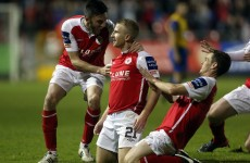 Advantage Saints after victory over Dundalk in top of the table clash
