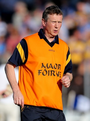 Clare joint manager Donal Moloney.