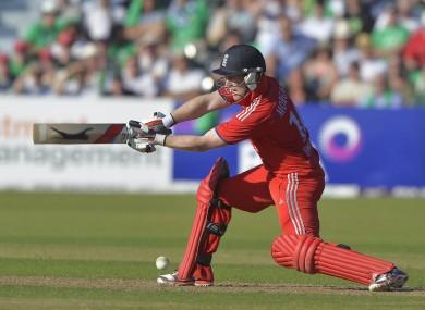 Morgan: superb for England.