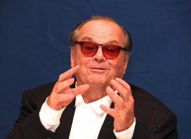 Nicholson in 2010