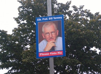 The posters have been erected in parts of north Dublin