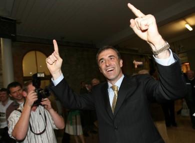Former Fianna Fáil TD Chris Andrews at the RDS in Dublin in 2007.