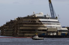 VIDEO: Watch the Costa Concordia being pulled upright