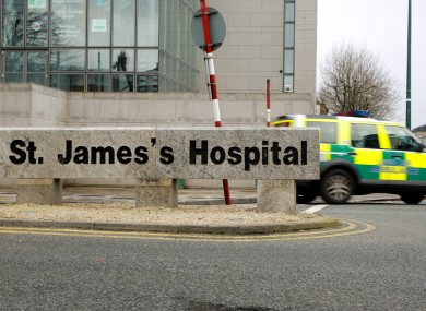 St. James' hand hygiene standards were 'poor' say inspectors.