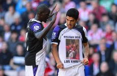 Suarez welcomes new son into the world after scoring first goals of the season