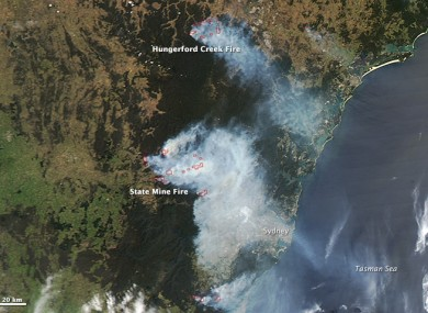 Fires in New South Wales