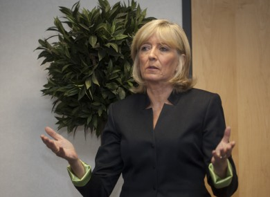 The former Ombudsman Emily O'Reilly delivers her last annual report just two weeks ago.