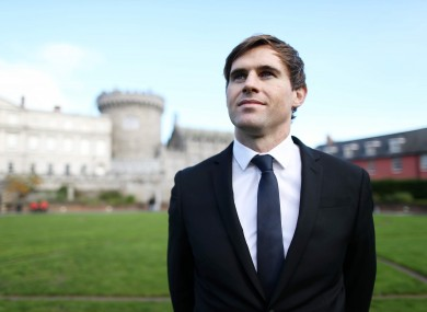 Kilbane in Dublin Castle this week.