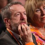MEP Sean Kelly and Senator Cait Keane listen intently <span class=