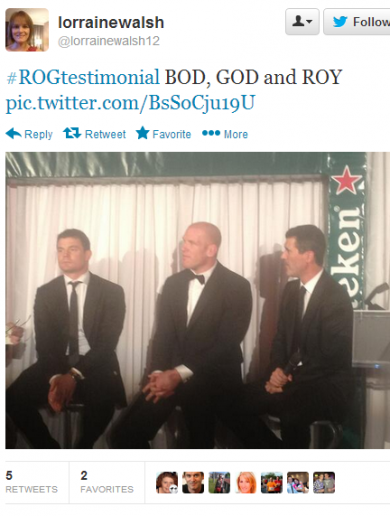 13 tweets to walk you through Ronan O'Gara's testimonial