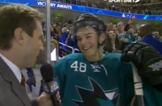 Here's 19-year-old Tomas Hertl with the sweetest NHL goal you'll see this year