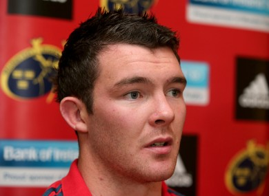 O'Mahony is hoping to be fit for Saturday afternoon's game at Murrayfield.