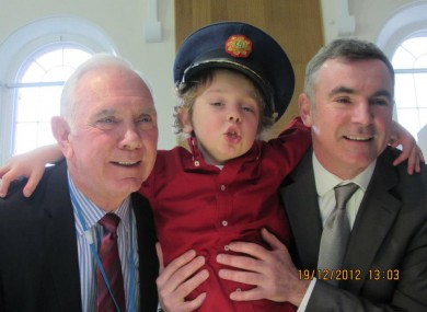 Philip, Adam and Aidan McCabe