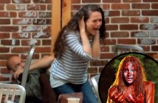 Is this terrifying stunt the best prank ever?