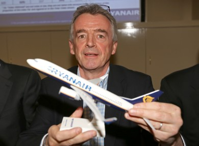 Ryanair CEO Michael O'Leary.
