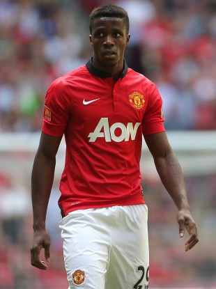 Zaha has yet to play in the Premier League for United.