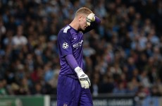 Gary Neville criticises Joe Hart after Champions League calamity