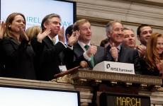 Enda Kenny to ring the NASDAQ bell in Dublin tomorrow