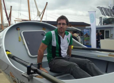 Philip Cavanagh says he had no interest in rowing up until a few years ago.