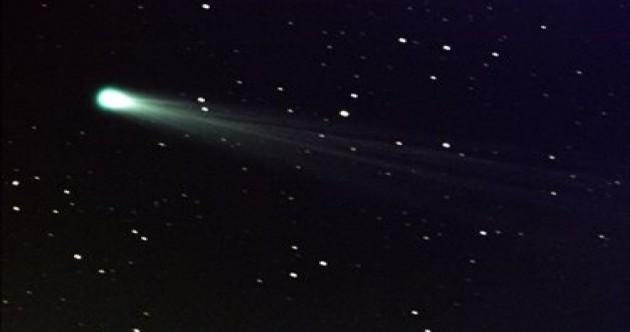Sun-grazing comet likely to have broken up