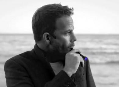 US actor Stephen Dorff advertises e-cigarettes for 'Blu Cigs'