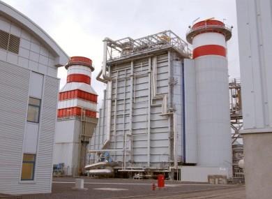 Energia's power plant