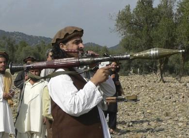 Hakimullah Mehsud in 2009