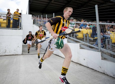 Shefflin: joined the Cats squad for testing last weekend.