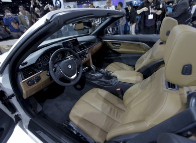 The 2014 BMW 428i is introduced at the Los Angeles Auto Show.