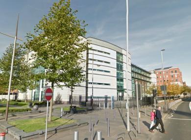 Laganside Magistrates' Court in Belfast.