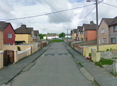 Clarina Avenue in Limerick (File photo)