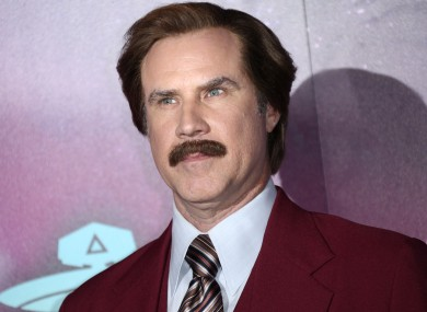 Ron Burgundy makes an appearance at the MTV Europe Music Awards in Amsterdam.