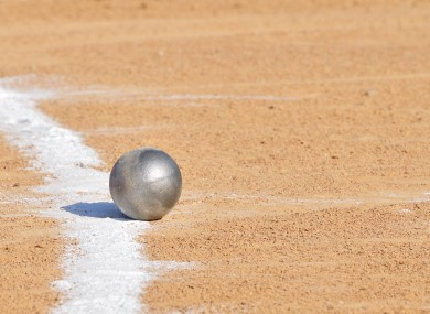File photo of shot put.