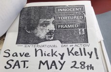 The 'Free Nicky Kelly' fliers found in New York's subway in 1983