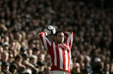 Long throw-in specialist Rory Delap retires from football
